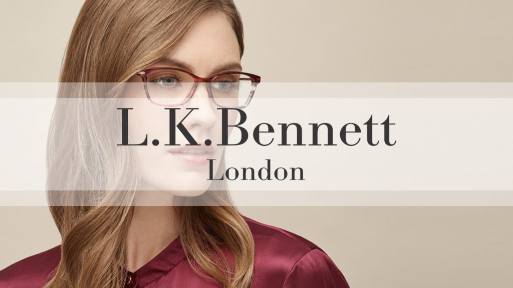 L. K. Bennett Eyewear at Davies-Todd Opticians (Worksop) Ltd